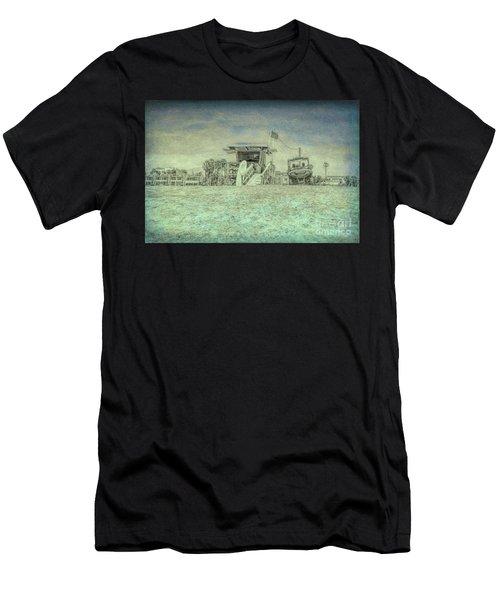Lifeguard Tower 2 Men's T-Shirt (Athletic Fit)
