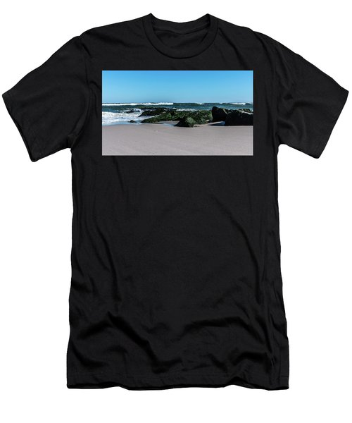 Lifes A Beach Men's T-Shirt (Athletic Fit)