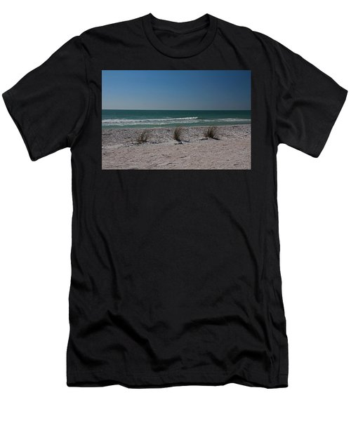 Life's A Beach Men's T-Shirt (Slim Fit) by Michiale Schneider
