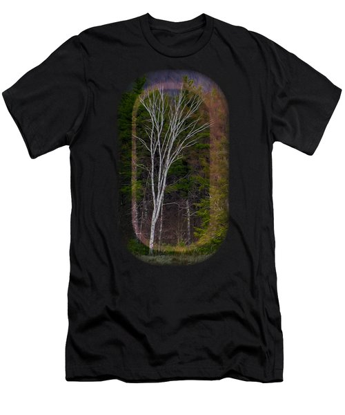 Men's T-Shirt (Athletic Fit) featuring the photograph Life's A Birch No.1 by Mark Myhaver