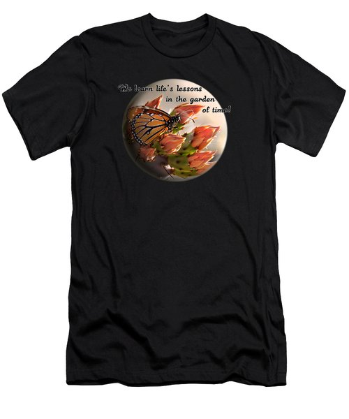 Men's T-Shirt (Slim Fit) featuring the photograph Life's Garden by Phyllis Denton