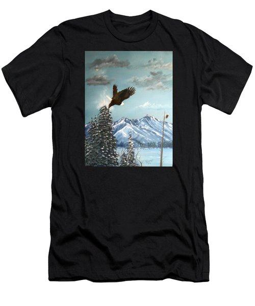 Lift Off Men's T-Shirt (Athletic Fit)