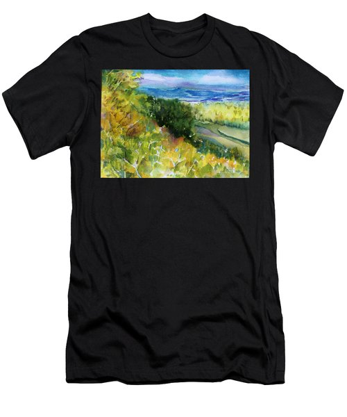 Lift Up My Eyes Unto The Hills Men's T-Shirt (Athletic Fit)