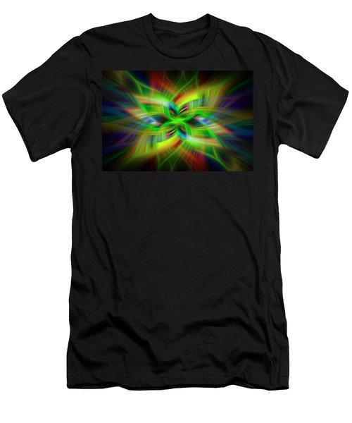 Light Abstract 1 Men's T-Shirt (Athletic Fit)