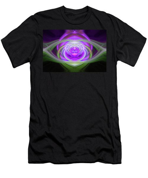 Light Abstract 3 Men's T-Shirt (Athletic Fit)