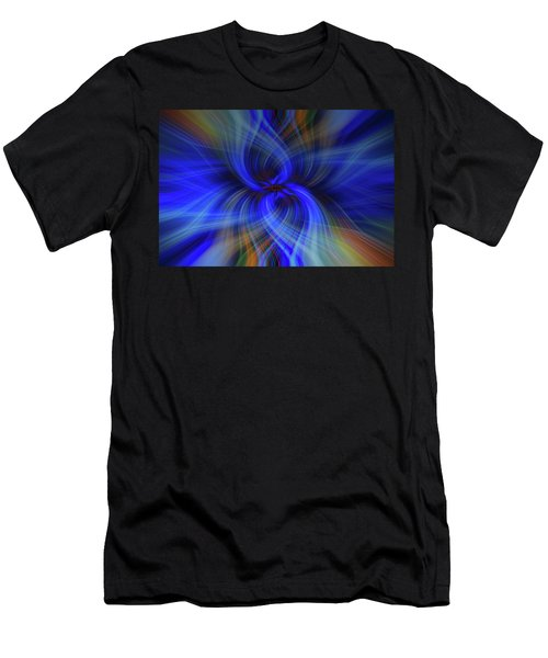Light Abstract 7 Men's T-Shirt (Athletic Fit)
