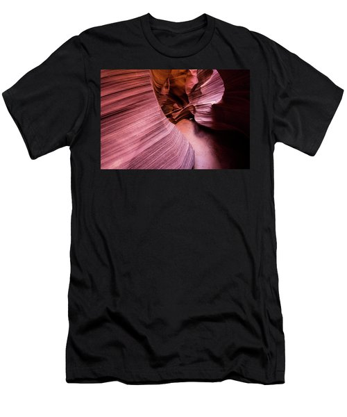 Men's T-Shirt (Athletic Fit) featuring the photograph Light And Dark by Stephen Holst