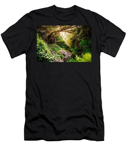 Light And Magic Men's T-Shirt (Athletic Fit)