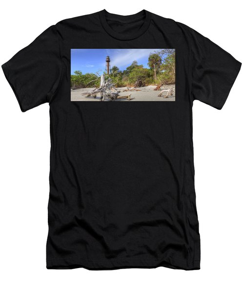 Light Behind The Stump Men's T-Shirt (Athletic Fit)