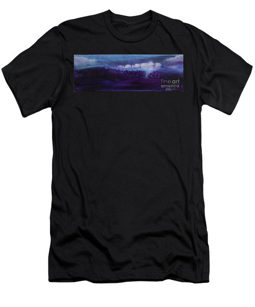 Men's T-Shirt (Athletic Fit) featuring the painting Light Breaks Through by Kim Nelson