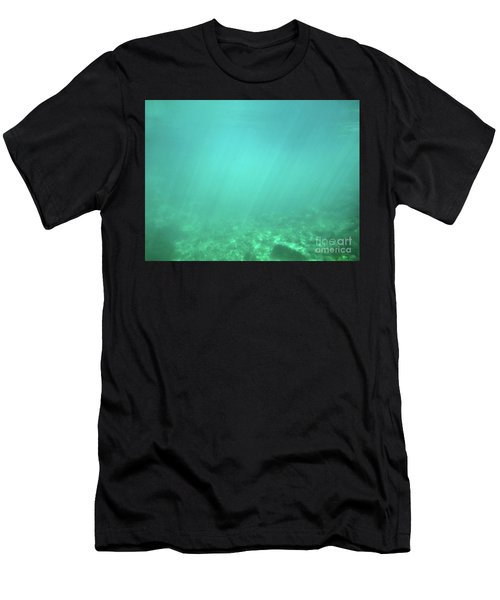Men's T-Shirt (Athletic Fit) featuring the photograph Light In The Water by Francesca Mackenney
