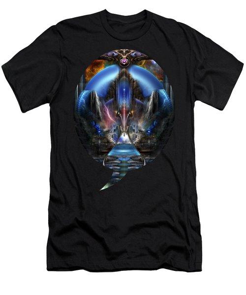 Light Of Ancient Wisdom Men's T-Shirt (Athletic Fit)