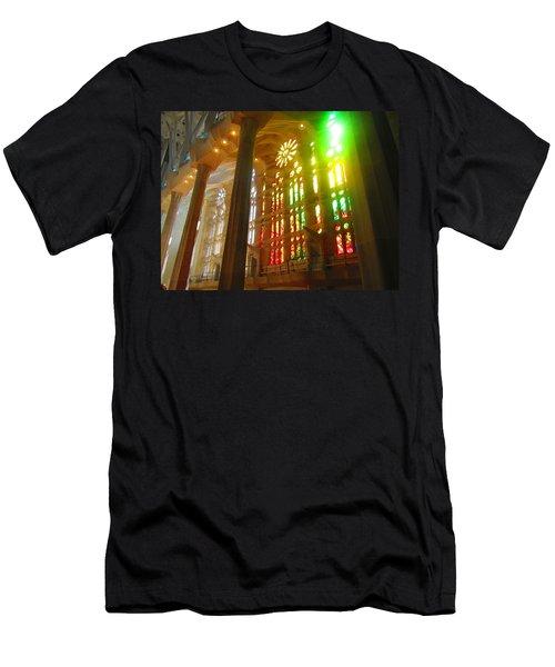 Light Of Gaudi Men's T-Shirt (Athletic Fit)