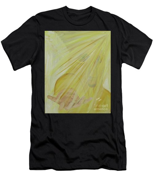 Light Of God Enfold Me Men's T-Shirt (Athletic Fit)