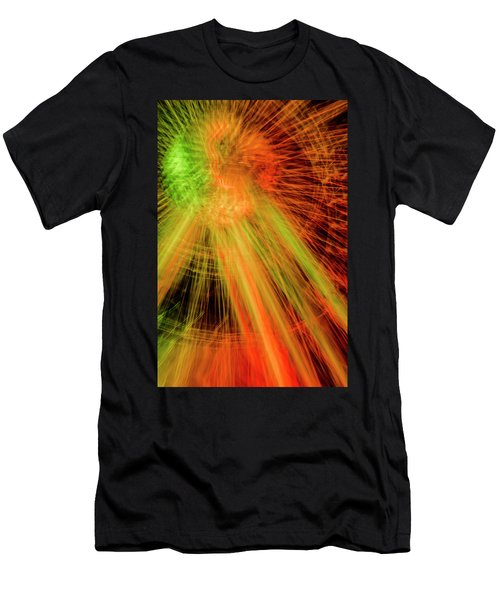 Light Painting At Night Men's T-Shirt (Athletic Fit)