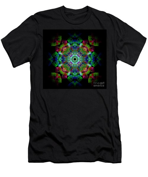 Light Pattern Men's T-Shirt (Athletic Fit)