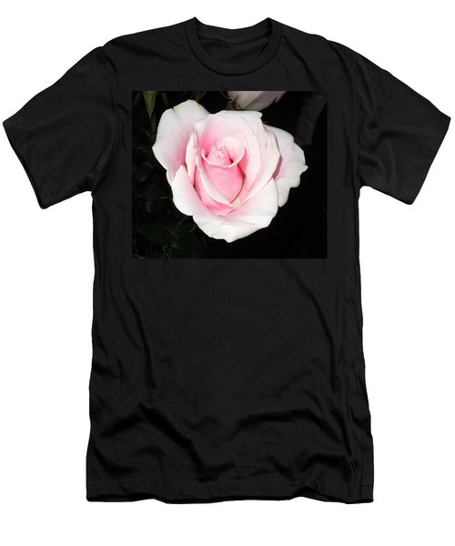 Light Pink Rose Men's T-Shirt (Athletic Fit)