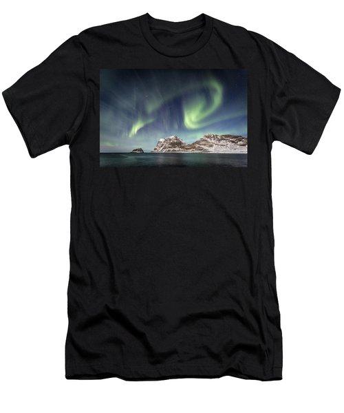 Light Show Men's T-Shirt (Slim Fit) by Alex Conu