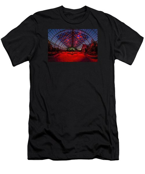 Light Show At The Conservatory Men's T-Shirt (Athletic Fit)