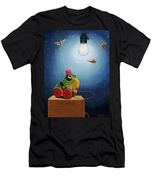 Light Snacks Original Whimsical Still Life Men's T-Shirt (Athletic Fit)