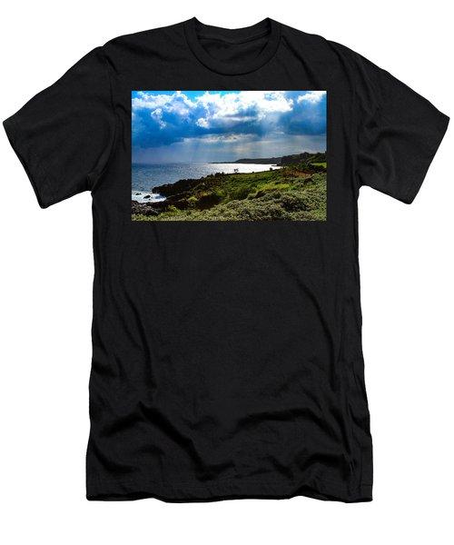 Light Streams On Kauai Men's T-Shirt (Athletic Fit)