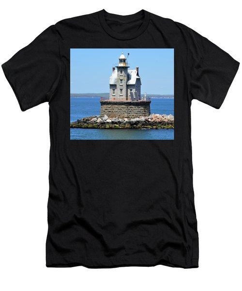 Lighthouse 2-c Men's T-Shirt (Athletic Fit)