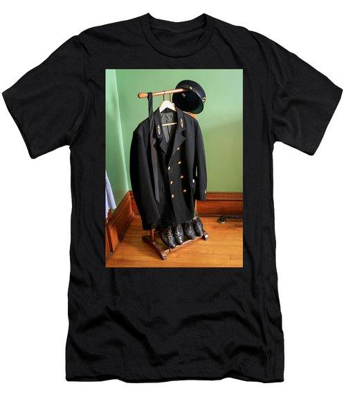 Lighthouse Keeper Uniform Men's T-Shirt (Athletic Fit)