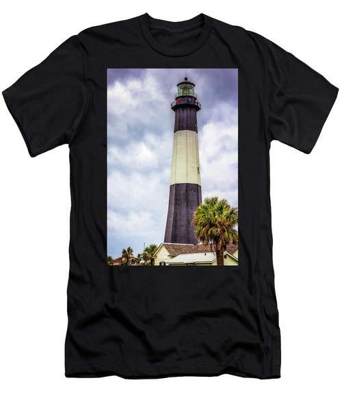 Lighthouse - Tybee Island, Georgia Men's T-Shirt (Athletic Fit)