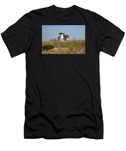 Lighthouse's Rock Men's T-Shirt (Athletic Fit)