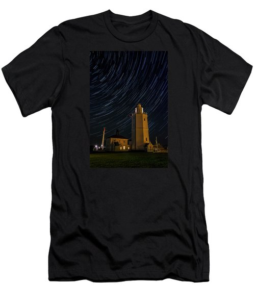 Lighting The Sky Men's T-Shirt (Athletic Fit)