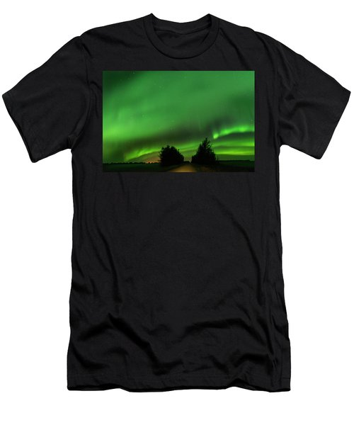Lighting The Way Home Men's T-Shirt (Athletic Fit)
