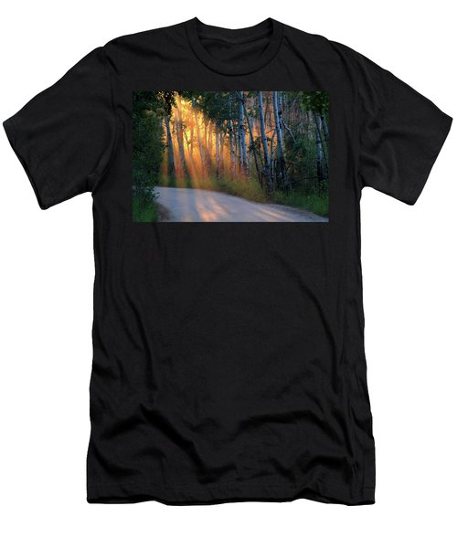 Lighting The Way Men's T-Shirt (Athletic Fit)