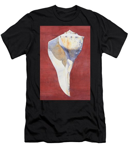 Lightning Whelk Conch I Men's T-Shirt (Athletic Fit)