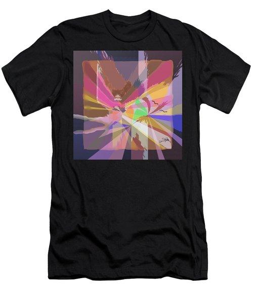 Lights Men's T-Shirt (Athletic Fit)