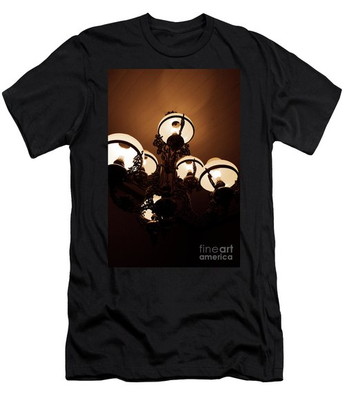 Lights Of Darkness Men's T-Shirt (Athletic Fit)