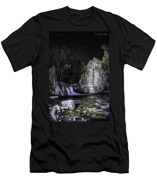 Lights On The Mill Men's T-Shirt (Athletic Fit)