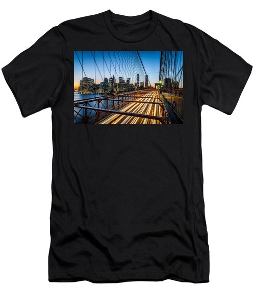 Men's T-Shirt (Athletic Fit) featuring the photograph Lightwave by Johnny Lam