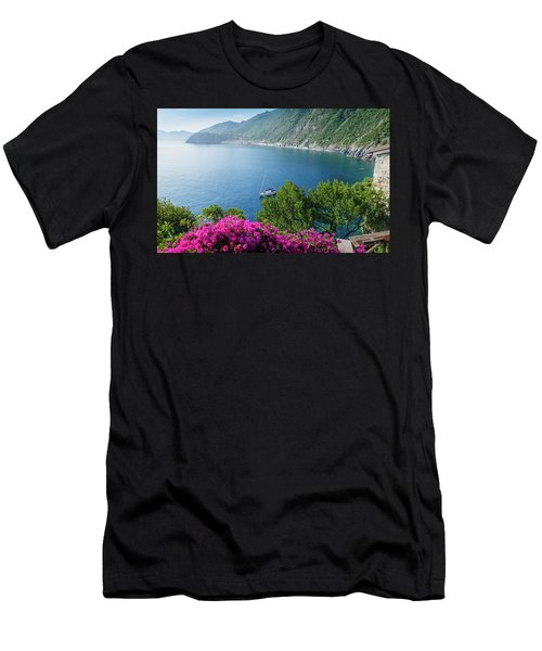 Ligurian Sea, Italy Men's T-Shirt (Athletic Fit)