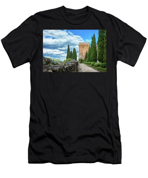 Like A Fortress In The Sky Men's T-Shirt (Athletic Fit)