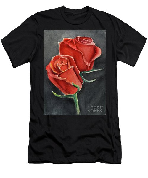 Like A Rose Men's T-Shirt (Athletic Fit)