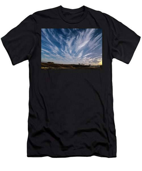 Like Feathers In The Sky Men's T-Shirt (Athletic Fit)