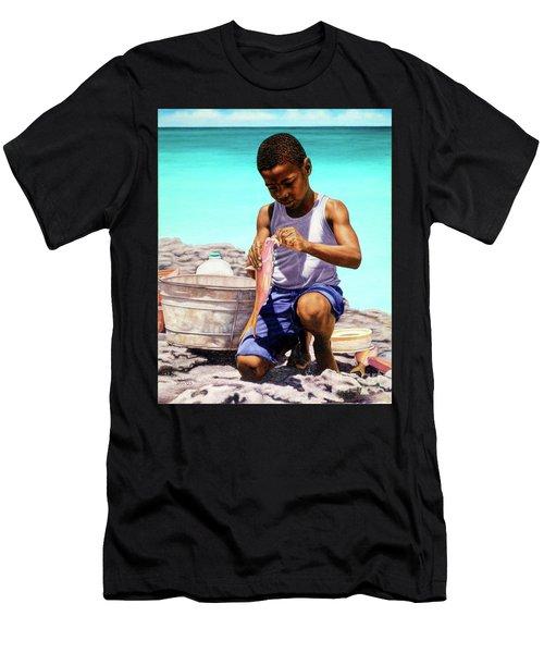 Lil Fisherman Men's T-Shirt (Athletic Fit)