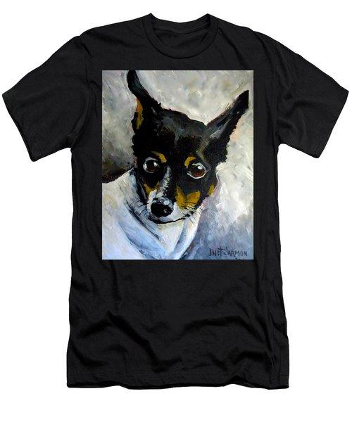 Lil Rat Terrier Men's T-Shirt (Athletic Fit)
