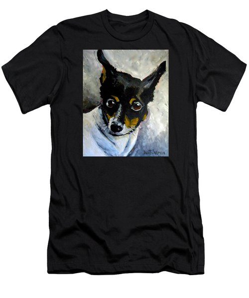 Lil Rat Terrier Men's T-Shirt (Athletic Fit)