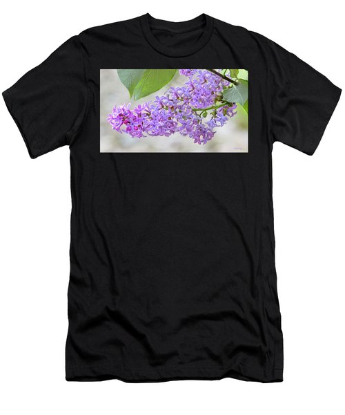 Lilac Cluster Men's T-Shirt (Athletic Fit)