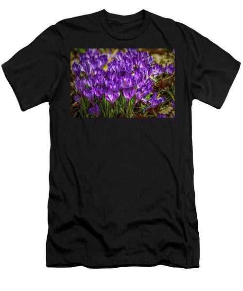 Lilac Crocus #g2 Men's T-Shirt (Athletic Fit)