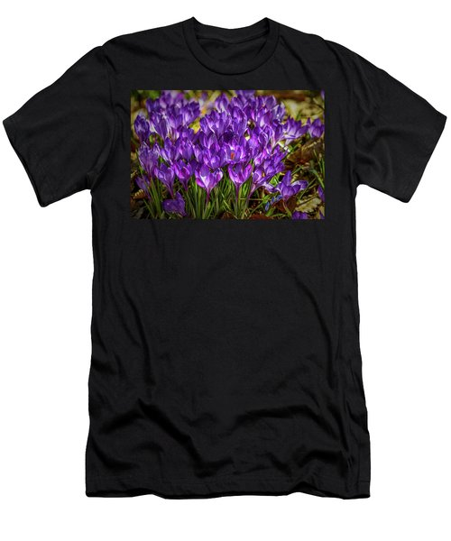 Lilac Crocus #g2 Men's T-Shirt (Athletic Fit)