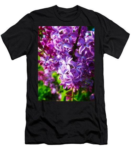 Lilac In The Sun Men's T-Shirt (Athletic Fit)