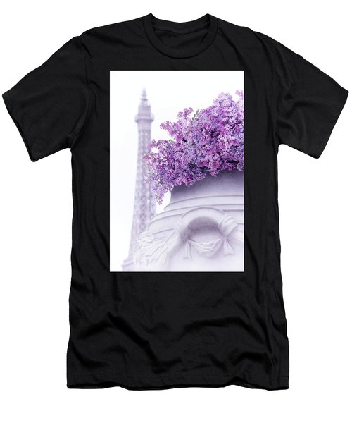 Lilac Tales Men's T-Shirt (Slim Fit) by Iryna Goodall