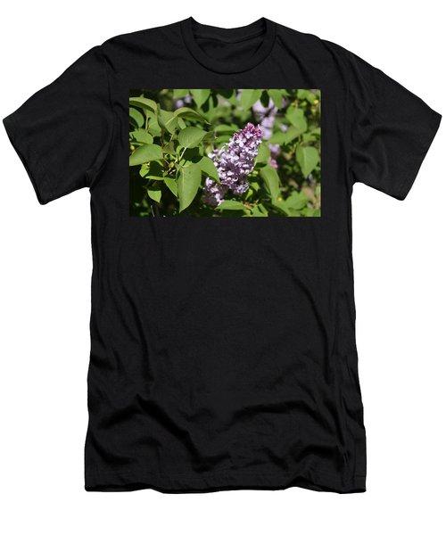 Men's T-Shirt (Slim Fit) featuring the photograph Lilacs 5551 by Antonio Romero